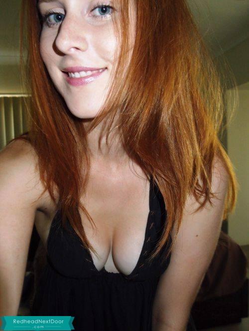 ginger selfie 201