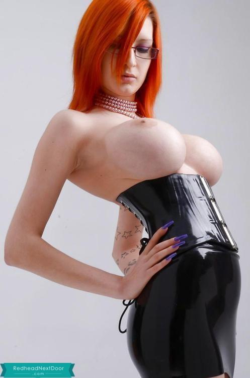 latex redhead 100