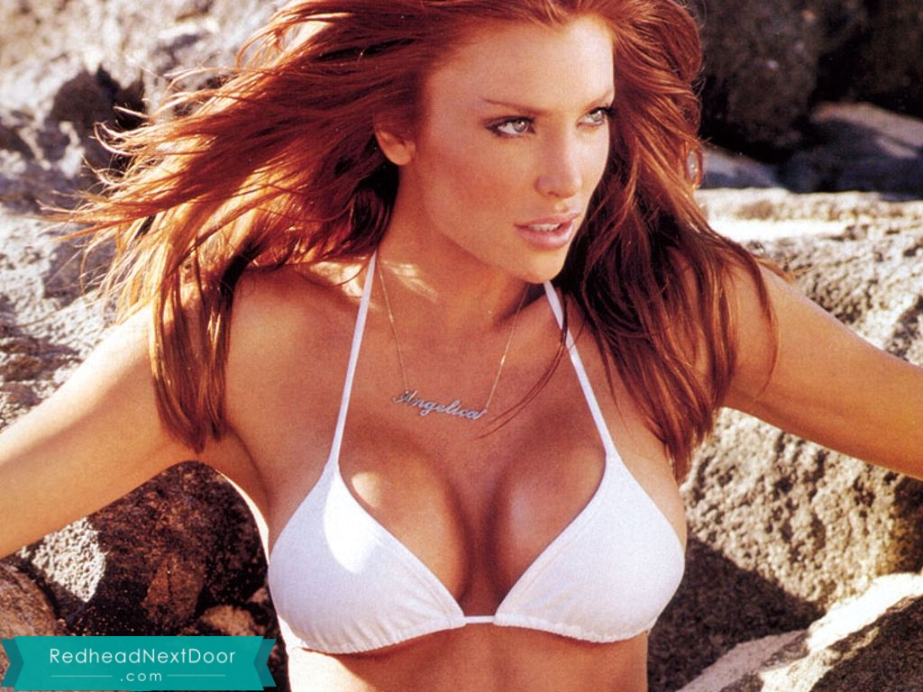 Angelica Bridges - One of the Hottest Redheads of All Time