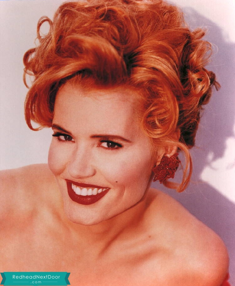 Geena Davis Photos - One of the Hottest Redheads of All Time