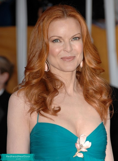 Marcia Cross Photos - One of the Hottest Redheads of All Time