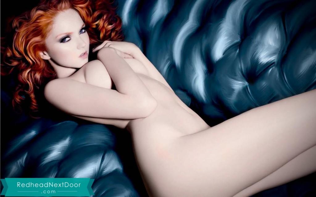 Hot redhead wallpaper