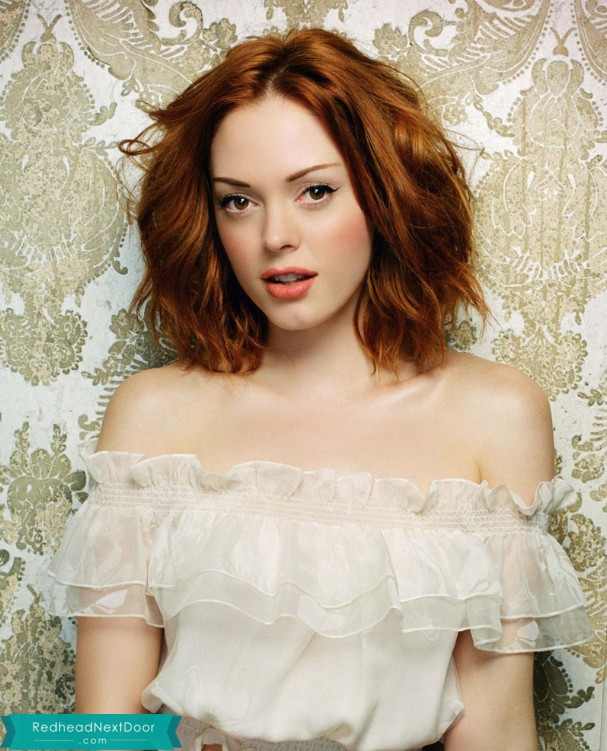 Rose Mcgowan Redhead 50