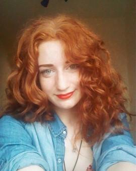 ginger selfie