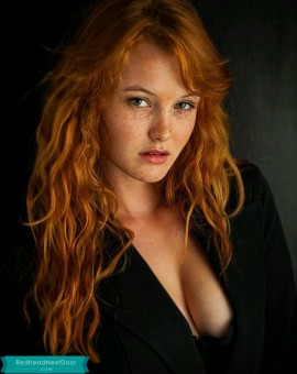 lovely redhead 1