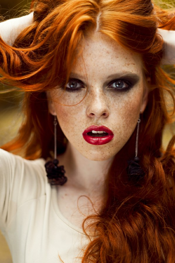 She Has Eyes That Can Steal Your Soul - Redhead Next Door -1110