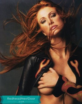Angie Everhart Photos - One of the Hottest Redheads of All Time