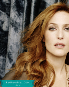 Gillian Anderson Photos - One of the Hottest Redheads of All Time