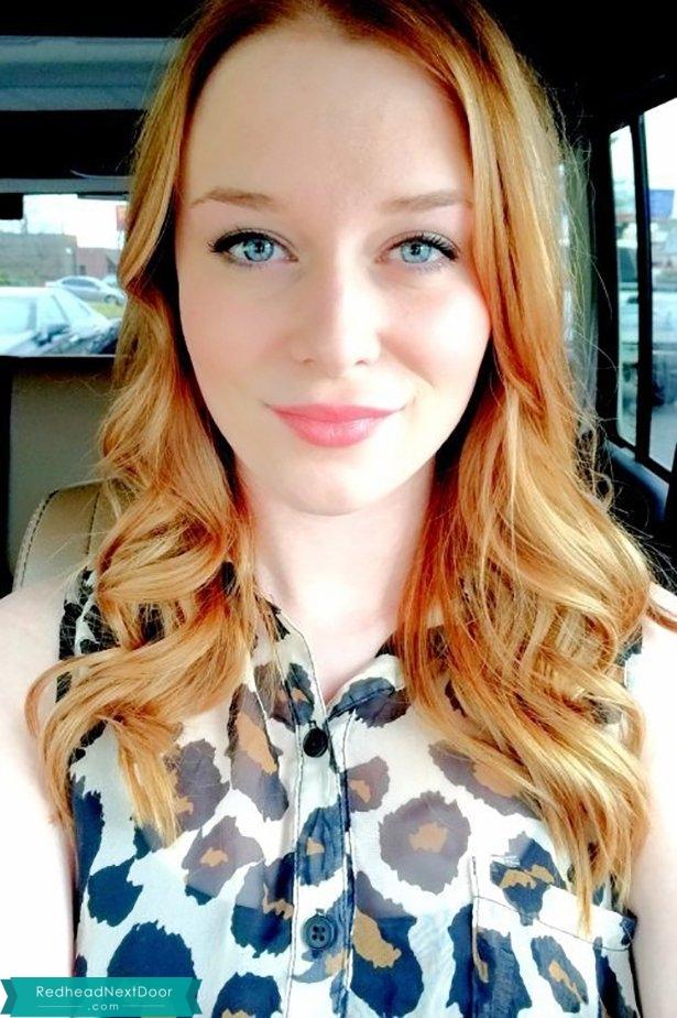 Incredible Blue Eyed Redhead! - Redhead Next Door Photo